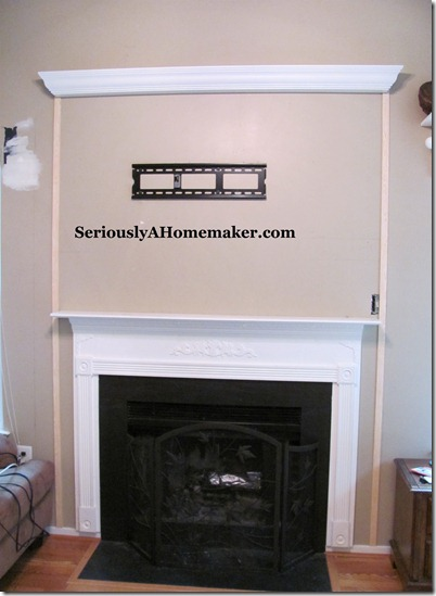How To Hide Tv Cords In Trim Work Sawdust Girl 174